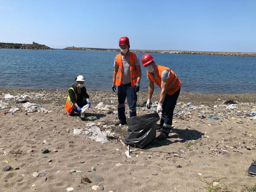 ÇATES gönüllülerinden kıyı temizliği seferberliği