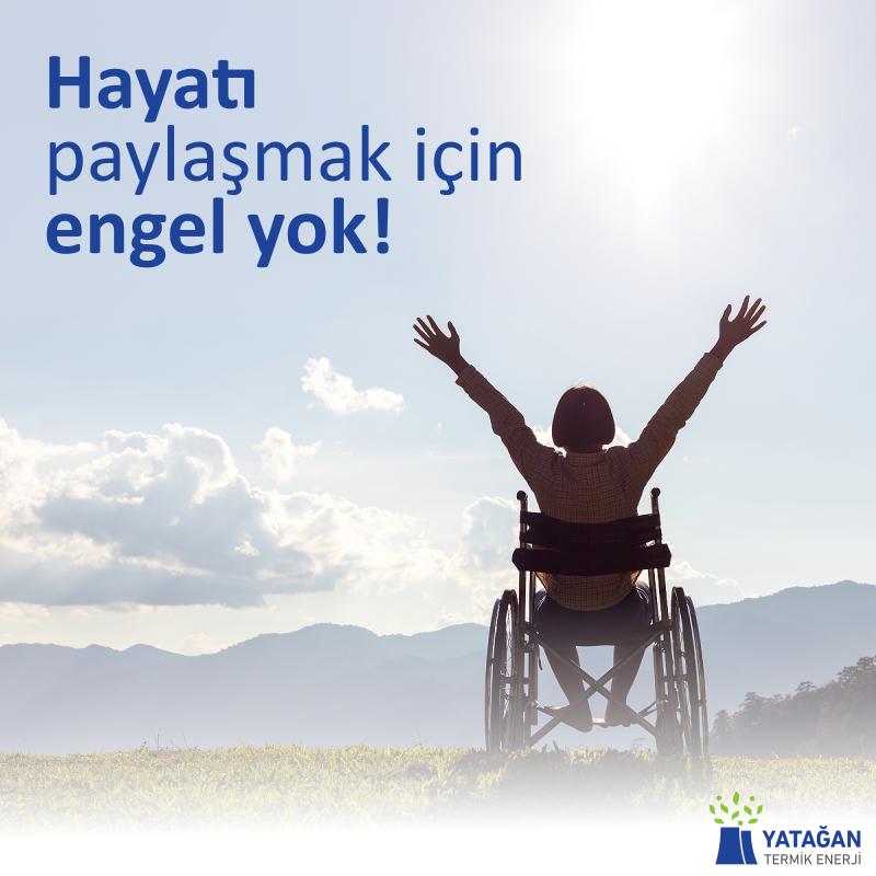 Hayatı Paylaşmak İçin Engel Yok!