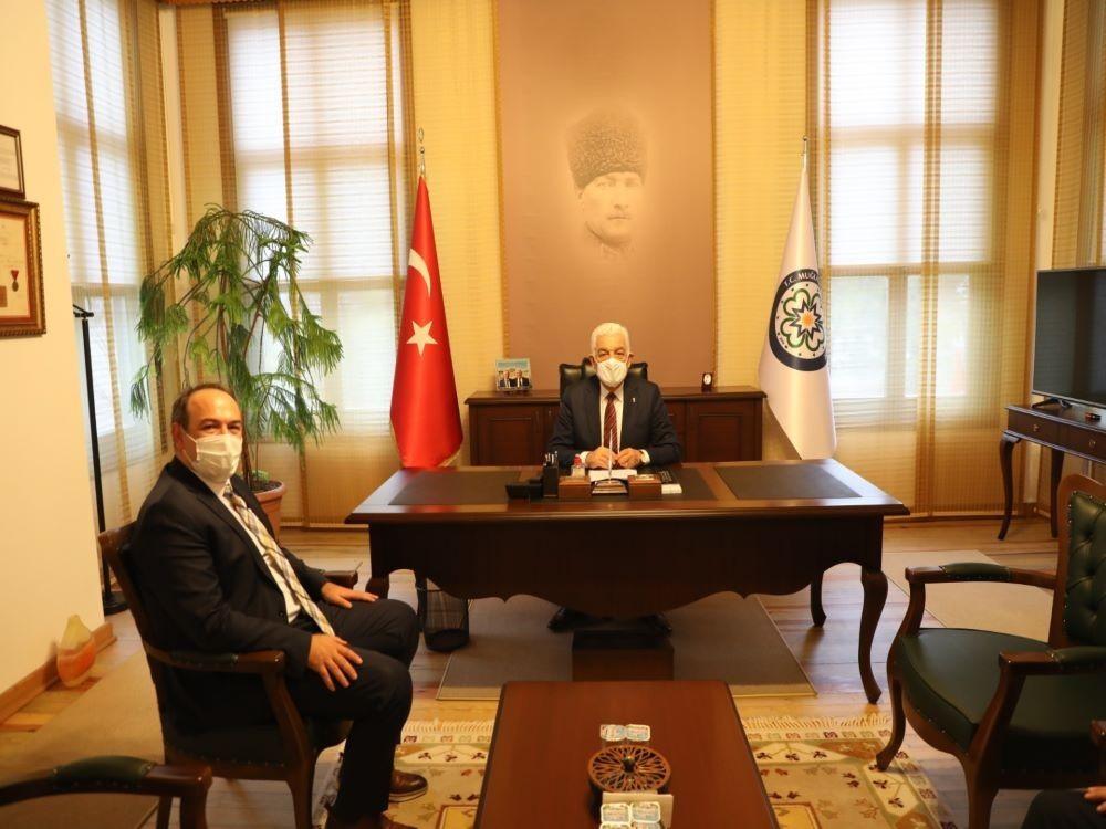 Korhan TİRKAYİ'den Osman GÜRÜN'e ziyaret