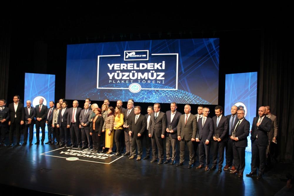Anadolu 500 Ödül Töreni gerçekleşti