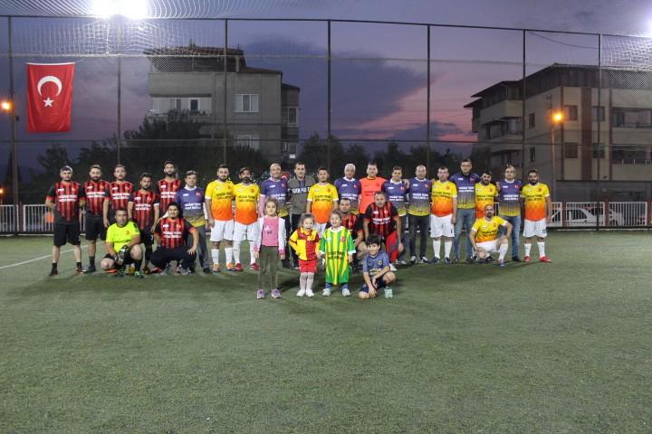 Futbol turnuvamız renkli görüntülerle başladı