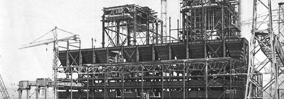 1977 - Santral inşaatı